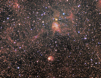 IC 417 (Spider)  NGC1931 (Fly)