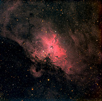 M16  NGC 6611 SH 2-49 The Eagle Nebula