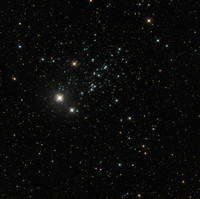 Caldwell 13 NGC 457 Owl Cluster, E.T. Cluster