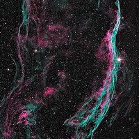 NGC 6960 SH 2-103 Veil Nebula Witch's Broom Nebula