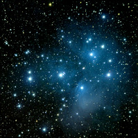 M45  Pleiades, or Seven Sisters