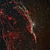 Caldwell 34 NGC 6960 Witch's Broom Nebula