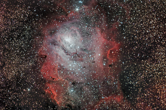 M8  NGC 6523 The Lagoon Nebula Sh 2-28