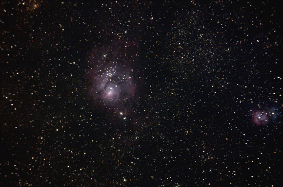 M8  NGC 6523 The Lagoon Nebula